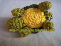 Josi Croche: Chaveiro tartaruga amigurumi em croche.