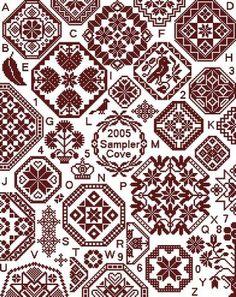 Grace Quaker Sampler - Cross Stitch Pattern