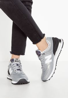 574 silver metallic new balance