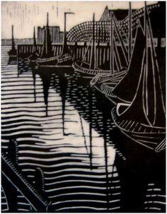 Dorrit Black (Australia 23 Dec 1891–13 Sep 1951) Harbour, Veere 1929