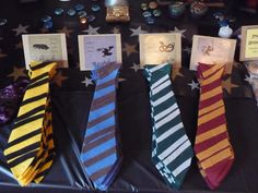 felt house ties for party harry potter - Yahoo Image Search Results