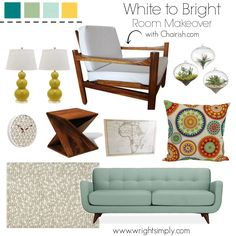 White to Bright Room Inspiration