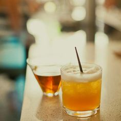 It's time for The Best Amaretto Sour in the World. This recipe from Oregon-based, world class mixologist Jeffrey Morgenthaler, is adjusted specially for the Baker's 107-proof bourbon. Not too sweet, we mix DiSaronno amaretto along with egg white, simple syrup, and fresh squeezed lemon. Come on in, we'll prove it! /// Jill DeVries Photography