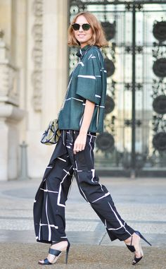 Candela Novembre from Street Style at Paris Fashion Week Spring 2016