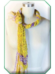 LA Inspired: Picture this: You're cruising a California coastal highway, top down, with a scarf blowing over your shoulder. This knot gives you that look - no matter where you are!