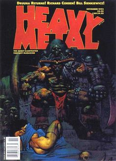 Heavy Metal Magazine - November 1992