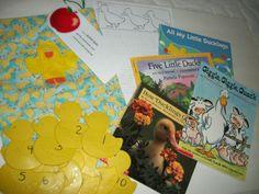 Literacy bag center preschool K skills DUCKS theme Literacy Bags, Education And Literacy, Preschool Literacy, Classroom Activities, Preschool Activities, Preschool Farm, Preschool Centers, Kid Books, Children's Books