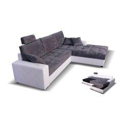 Superbe salon d'angle, avec couchage et grand coffre de rangement. Plus d'infos sur http://www.on-dstock.com/1195-thickbox_fbr/salon-d-angle-kristina.jpg