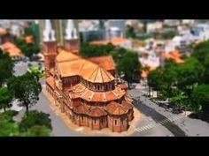 Miniature City HCMC - Time Lapse - Tilt Shift by jnvdub