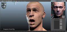 Snappers Facial RigComputer Graphics & Digital Art Community for Artist: Job, Tutorial, Art, Concept Art, Portfolio