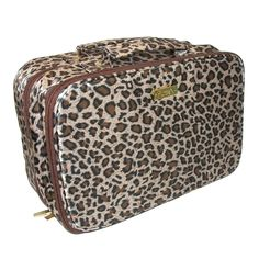 Amour Travel Case by PurseN. Includes a toiletry side with two pouches & a cosmetic side with 5 pouches
