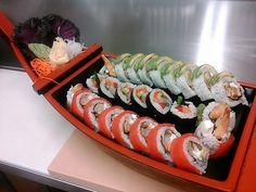 Sushi from Walter Cafe, Ukiah, CA