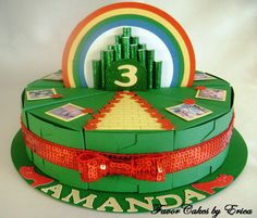 Emerald City Favor Box Cake - Please Contact Me for a Price Quote on Etsy, $3.50
