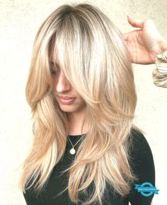 hair cut lange haare 50 Cute and Effortless Long Layered Haircuts with Bangs Haircut For Thick Hair, Haircuts For Long Hair, Long Hair Cuts, Medium Hair Styles, Short Hair Styles, Layered Haircuts With Bangs, Layered Hairstyles, Feathered Hairstyles, Pretty Hairstyles