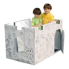 My Very Own House MC4428R Castle Coloring Playhouse