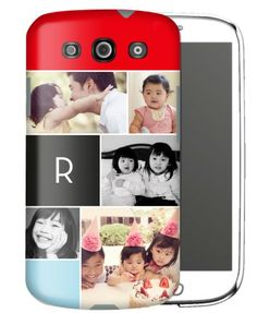 Samsung Galaxy S3 case with liner, monogram and custom photos. On shutterfly.