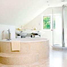 bathroom, inspiration, inspiratie, badkamer, design, idea, idee, ontwerp, bad, bath, art, kunst