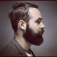 Great Facial Hair. Epic Beard, Full Beard, Hair And Beard Styles, Hair Styles, Facial Hair Growth, Beard No Mustache, Hair Inspiration, Hair Cuts, Beards