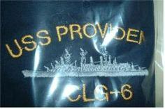USS PROVIDENCE CLG-6 embroidered shirt Go Navy, Embroidery Services, Company Logo, Neon Signs, Shirt, Dress Shirt, Shirts