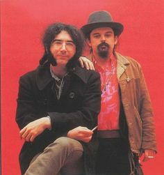"Jerry Garcia & Ron ""Pigpen"" Mc Kernan of the Grateful Dead. Pigpen Grateful Dead, Grateful Dead Tattoo, Grateful Dead Poster, Phil Lesh And Friends, Jerry Garcia Band, Mickey Hart, Bob Weir, Dead And Company, Music"