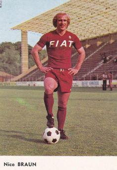 Nico Braun (FC Metz) Fc Metz, Football, Sports, Tops, Fashion, Projects, Soccer, Hs Sports, Moda