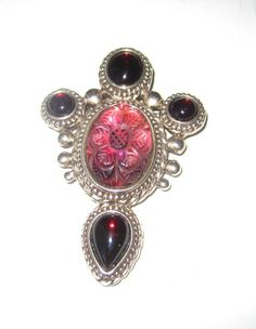 Rare Stephen Dweck Large Statement Pin/Brooch/Pendant Striking Color and Design