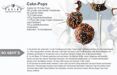 Cake Pops (18 Portionen). Besucht mich mal unter www.xavina.com