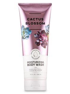 Jan 2020 - Signature Collection - Cactus Blossom Moisturizing Body Wash by Bath & Body Works Bath Body Works, Bath N Body, Perfume, Cactus Blossoms, Bath And Bodyworks, Dark Makeup, Smell Good, Shower Gel, Shea Butter