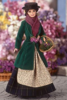 Barbie® Doll as Eliza Doolittle from My Fair Lady™ as the Flower Girl | Barbie Collector My daughter has this one here.