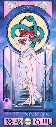 universe sailor moon tarot