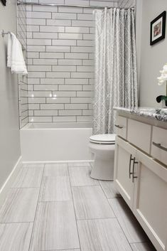 bathroom flooring - bathroom flooring ideas - bathroom floor tile - bathroom flooring - bathroom floor - bathroom floor tile ideas - bathroom floor plans - bathroom flooring ideas on a budget - bathroom floor ideas Grey Bathroom Floor, Vinyl Flooring Bathroom, Bathroom Vinyl, Bathroom Tile Designs, Bathroom Renos, Bathroom Interior Design, Bathroom Cabinets, Bathroom Mirrors, Bathroom Hardware