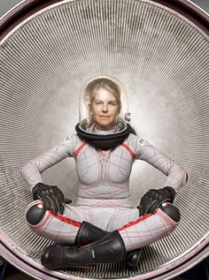 """Space Activity Suit - Since the 1960s, NASA has also investigated spacesuits that utilize mechanical pressure rather than pressurized gas to protect an astronaut. Such a """"space activity suit"""" is essentially an allover skin-tight leotard, which would be very lightweight and provide far less impediments to motion than traditional spacesuits. As well, a small tear in the suit would only affect the area exposed by the hole rather than cause a potentially deadly decompression event. The only…"""