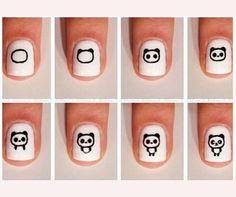 Really into nail art work :3