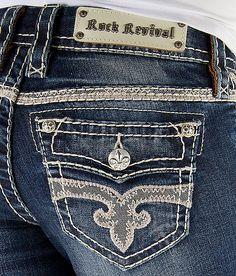 'Rock Revival Hana Skinny Stretch Jean' #buckle #fashion  www.buckle.com