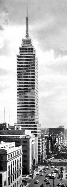 Torre Latino Americana,  Eje Central Lázaro Cárdenas 2, Centro Historico, Cuauhtémoc, México, DF 1956 Arq. Augusto H. Álvarez