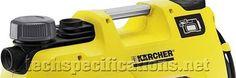 Karcher BP 5 Home & Garden Pump Tech Specs