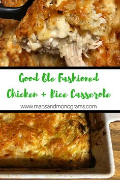 easy comfort food Good Ole Fashioned Chicken and Rice Casserole is the ultimate comfort food! Our rotisserie chicken short cut makes this a quick and easy recipe! Chicken Rice Casserole, Casserole Dishes, Casserole Recipes, Cooking Recipes, Healthy Recipes, Baked Dishes Recipes, Oven Cooking, Cooking Light, Cooking Ideas