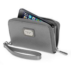 MICHAEL Michael Kors Essential Reißverschlussbörse für das iPhone 5 - Apple Store (Österreich)