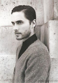 Jared Leto (from 30 seconds to Mars AND oscar winning movie dallas buyers club) His EYES!!..