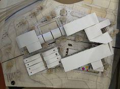 Piel de la edificación-mega colegio Skin of the mega school