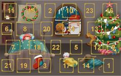 Calendari d'advent virtual