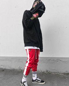 Retro Side Stripe Pants