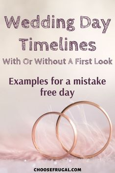 Figuring out how to plan a wedding can be time-consuming! Read examples for wedding day timeline: 4pm ceremony with first look and 1pm ceremony without first look. Plus other wedding tips to have a classy wedding on a budget! Your wedding ceremony and wedding reception will flow seamlessly with these wedding timeline ideas! #weddingtips #budgetwedding #weddingideas #weddingtimeline Wedding Reception On A Budget, Plan My Wedding, Wedding Tips, Wedding Ceremony, Wedding Planning, Timeline Example, Timeline Ideas, Makeup Trial, Cheap Wedding Decorations