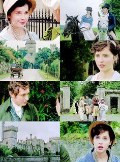 Caroline and Pierce Jane Austen Northanger Abbey, Jane Austen Movies, Jane Eyre, Where Is The Love, I Believe In Love, Amazing Movies, Good Movies, Winchester, Romantic Words