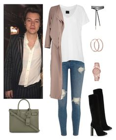 """""""#029"""" by taymartin ❤ liked on Polyvore featuring Tom Ford, River Island, RtA, Yves Saint Laurent, Boohoo and Gucci"""