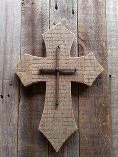 Barn wood cross