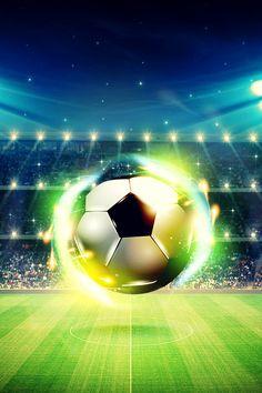 Football Field, Football Soccer, Soccer Ball, Football Wallpaper Iphone, Iphone Wallpaper, Soccer City, Football Background, Soccer Backgrounds, Football Tattoo
