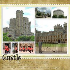 Scrapbook Pages london | Recent Scrapbook Pages: London - Windsor Castle