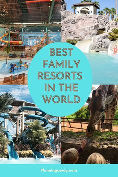 Are you looking for the best family resorts in the World? Perfect! That is exactly what we are exploring in this post. There are so many resorts that cater to families. This list will include destinations all over the world. If you are looking for the best family resorts in the world, we have got you covered. Let start exploring! #planningaway #travel Inclusive Resorts, Beach Resorts, Hotels And Resorts, Places To Travel, Places To Visit, Travel Destinations, Best Family Resorts, Beaches Turks And Caicos, Family Friendly Resorts