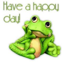 happy day frog